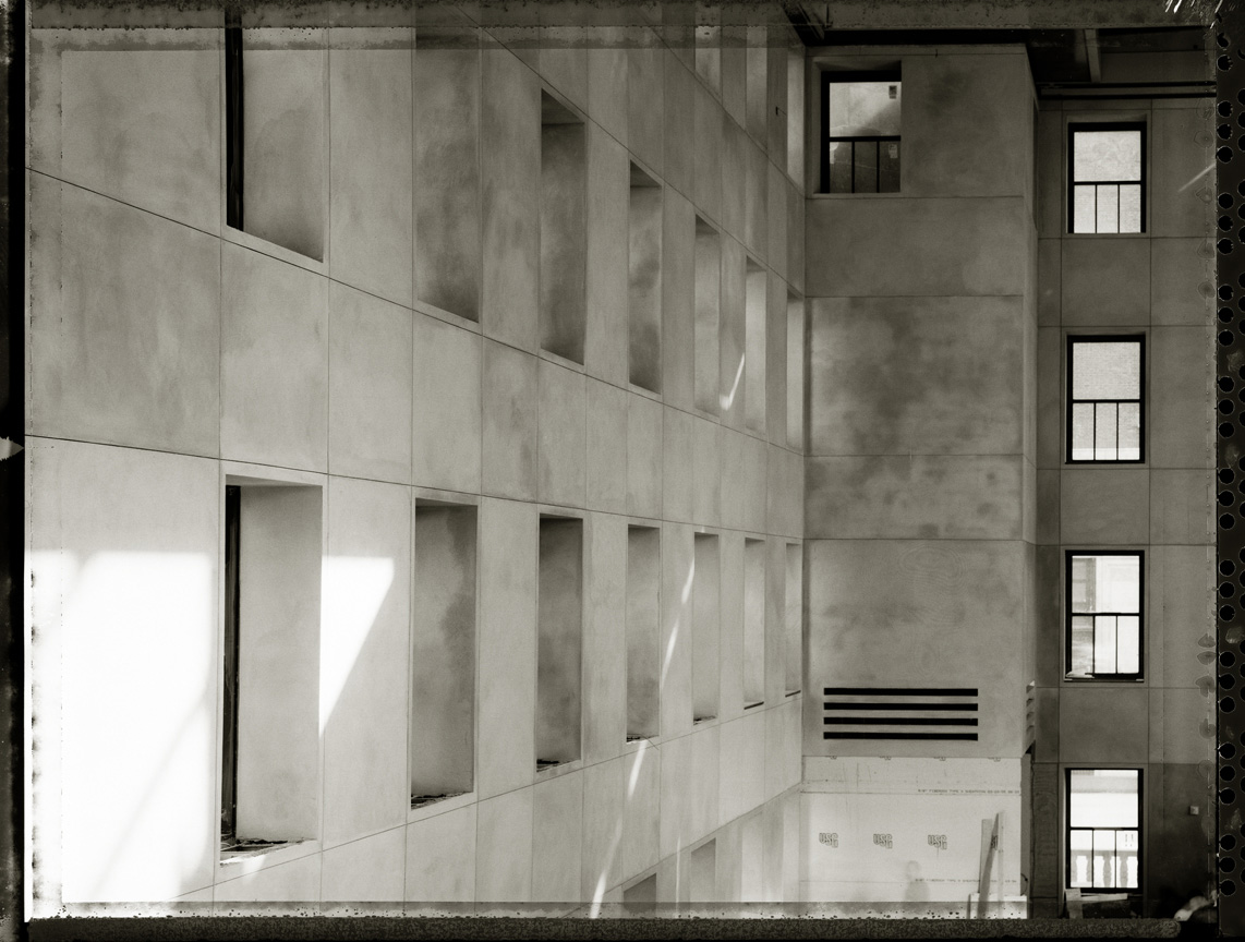 Hearst Lobby Under Construction, 2006, Archival Ink Print